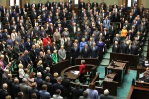 Posłowie na posiedzeniu Sejmu. Foto: Rafał Zambrzycki/sejm.gov.pl