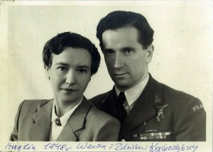 Zdzisław Krasnodębski wraz z żoną Wandą Foto: wikipedia.pl