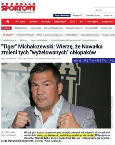 Michalczewski - przegląd sportowy