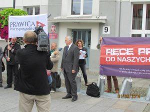 Protest w Białymstoku. Foto: Facebook.com