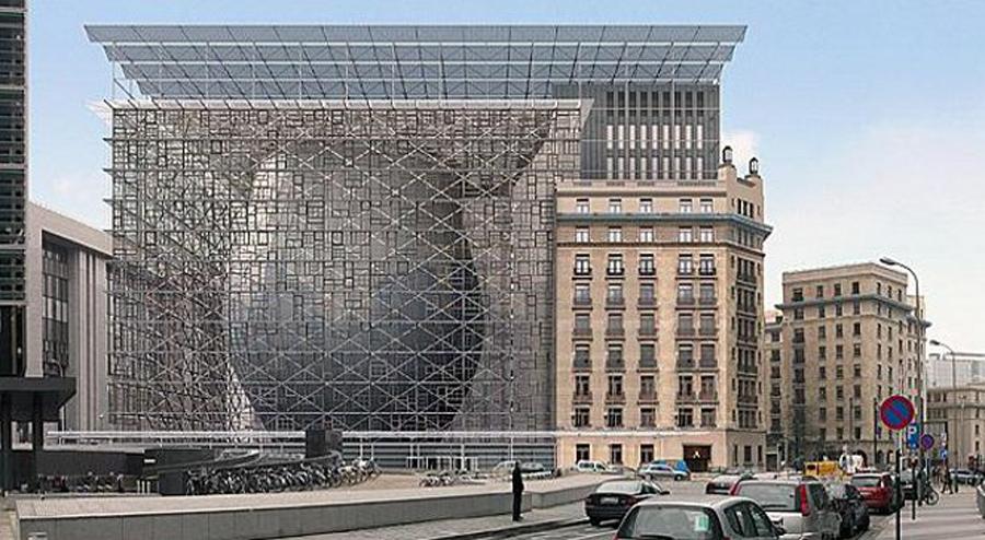 e224466240db3d Tak wygląda nowa siedziba Unii Europejskiej. Kosztowała 321 mln euro ...