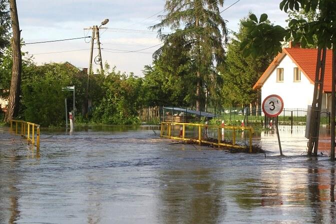 Polska zagrożona powodziami