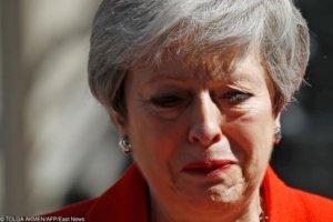 Theresa May podczas ostatniego przemówienia