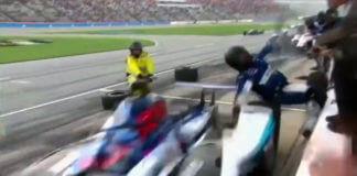 Mechanik potrącony przez bolid