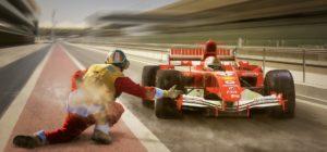 Mechanik został potrącony przez rozpędzony bolid na wyścigu