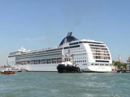MSC Opera uderza w mniejszy statek turystyczny w Wenecji