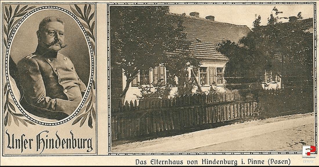 dom hindemburga w Pniewach