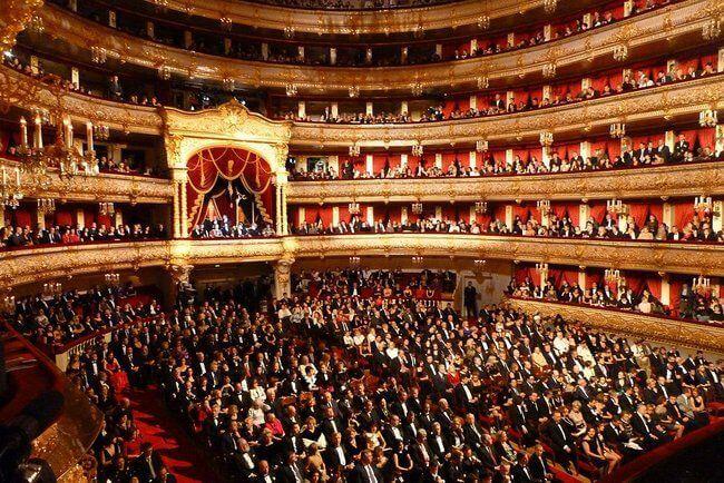 Teatr Bolszoj, Moskwa
