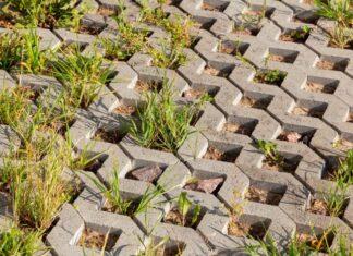 kratka parkingowa z betonu