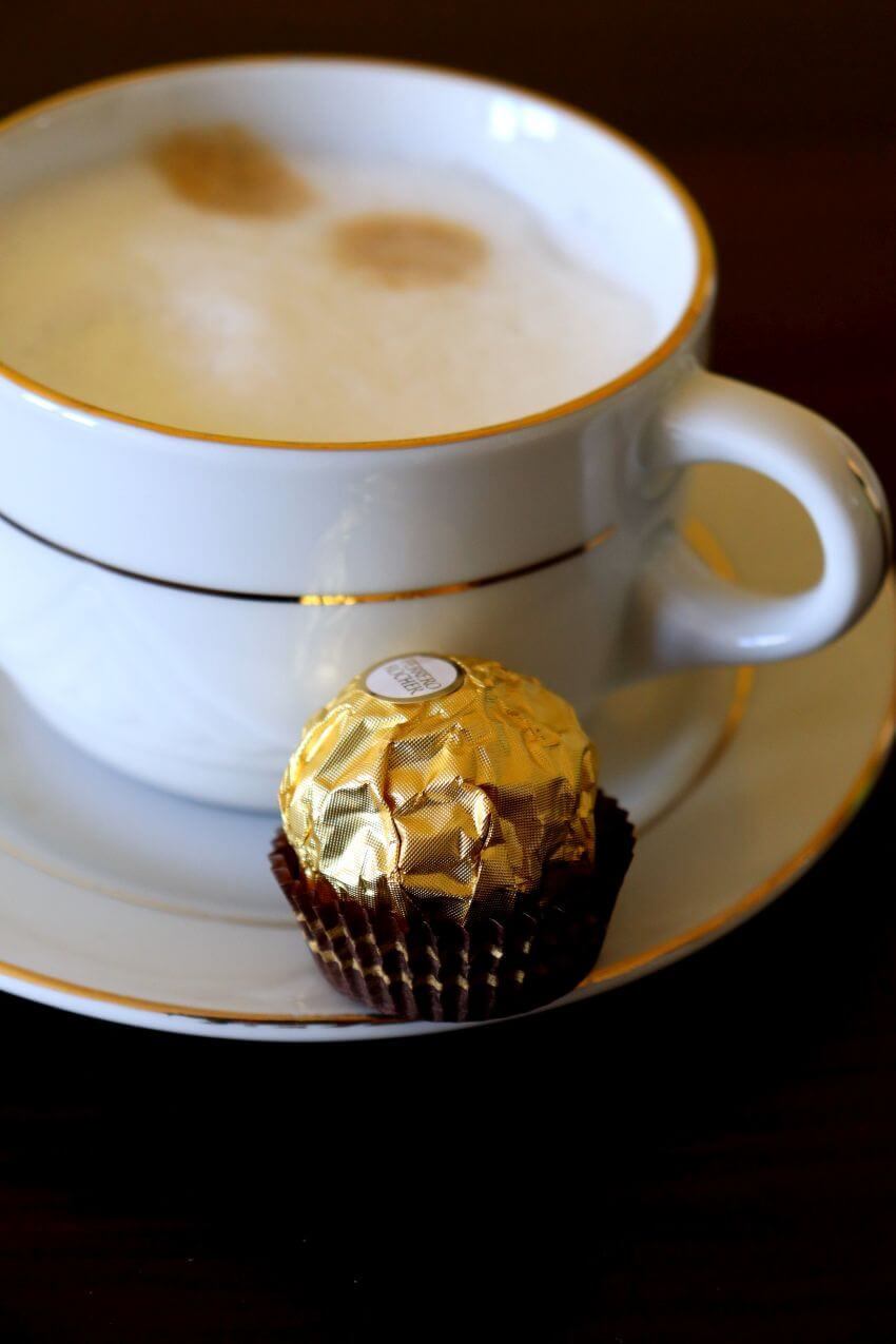 cappuccino z ekspresu saeco